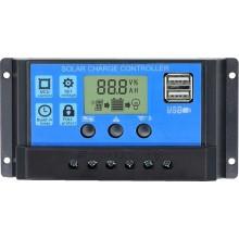 Ρυθμιστής Φόρτισης NV Solar 12/24V 10A